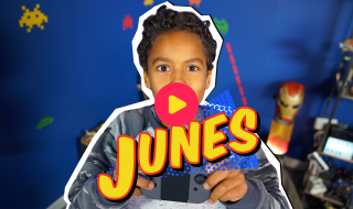 Gamen met Junes
