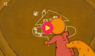 Nellie en Cezar: Rotstekeningen