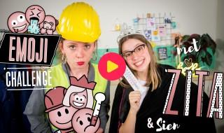 Emoji-challenge met Zita en Sien