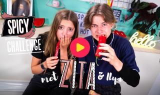 Spicy challenge met Zita en Ilya van Ketnet Musical Troep