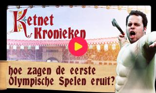 Ketnet Kronieken: Hoe zagen de eerste Olympische Spelen eruit?