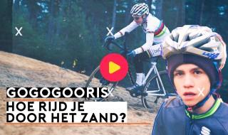 GOGOGOORIS: hoe rijd je door het zand?