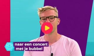 Een concert met je eigen bubbel