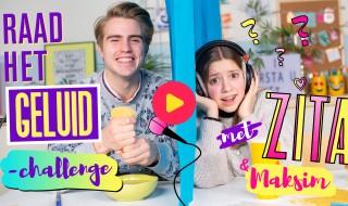 Raad het geluid-challenge met Zita en Maksim van #LikeMe