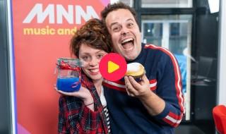 Sien verrast Sander tijdens Marathonradio