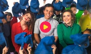 Sien, Gio en Maureen in de videoclip van 'Voor Jou' 2019