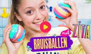 Bruisballen maken met Zita