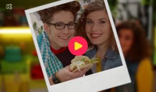 Broodje Kaas: Pita met kip en Yoghurt-muntsaus