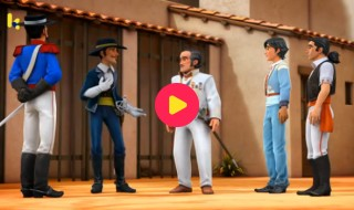 Zorro, de kronieken - Reeks 1- Aflevering 5