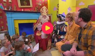 Sint en Piet in de Ketnet-studio