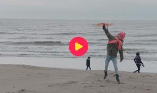 Kaatjes Kameraadjes: Natuur - Viktor houdt niet van wind