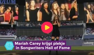 Mariah Carey krijgt een plekje in de songwriters hall of fame