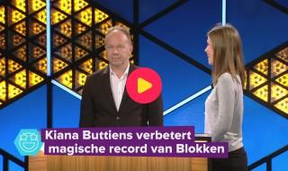 Kiana is de enige echte Blokken-kampioen!
