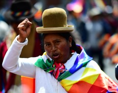 Karrewiet: Hevige protesten in Bolivia
