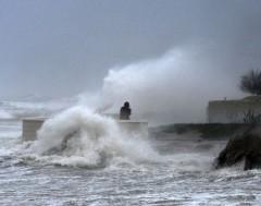 Karrewiet: Extreem zware storm in Spanje
