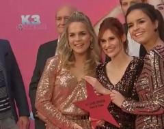 Karrewiet: Roze loper voor K3-fans