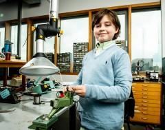 Karrewiet: WOW!  Laurent is negen jaar en heeft (bijna) een universitair diploma