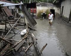 Karrewiet: Regen veroorzaakt grote problemen in Nepal