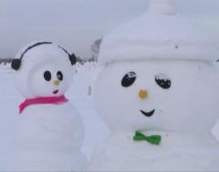Karrewiet: duizenden sneeuwmannen in China