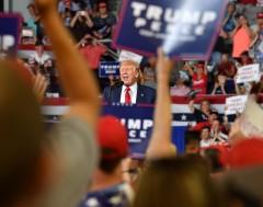 Karrewiet: Trump krijgt boze reacties
