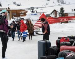 Karrewiet: Ingesneeuwd in de Alpen