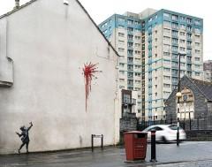 Karrewiet: Kunstwerk van Banksy al na twee dagen vernield