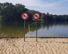 Karrewiet: Twee weken zwemverbod in Blaarmeersen