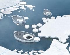 Karrewiet: Duikboot bevriest smeltende poolijs