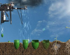 Karrewiet: Wow! Deze drone plant bomen