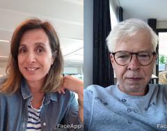Karrewiet: Zo zien Jelle en Mariam er over 50 jaar uit