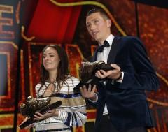 Karrewiet: Hans Vanaken en Tessa Wullaert winnen de Gouden Schoen
