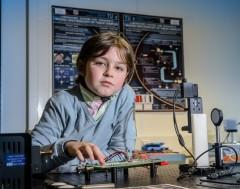 Karrewiet: 9-jarige Laurent stopt aan universiteit van Eindhoven