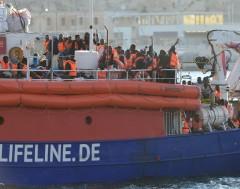 Karrewiet: Migranten aangekomen in Malta