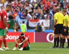 Karrewiet: Marokko als eerste uitgeschakeld op het WK