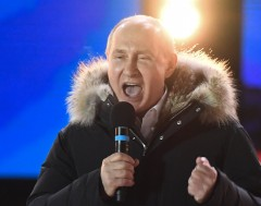 Karrewiet: Poetin blijft president