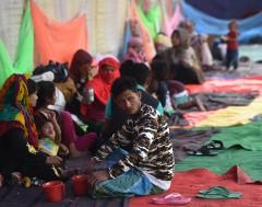 Karrewiet: Rohingya vrezen voor regen