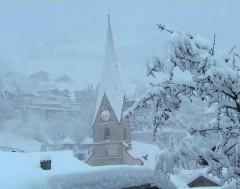 Karrewiet: Het sneeuwt al massaal veel in de Alpen