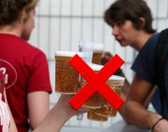Karrewiet: Geen plastic op het strand