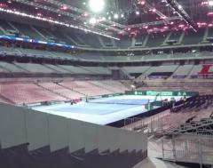 Karrewiet: Voetbalstation in Rijsel wordt omgebouwd voor de Davis Cup