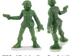 Karrewiet: Vrouwelijke speelgoedsoldaatjes komen er dankzij 6-jarig meisje