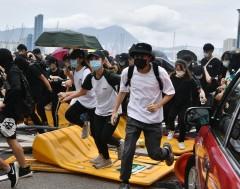 Karrewiet: Er zijn opnieuw grote protesten in Hongkong