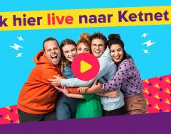 Livestream: Kijk hier LIVE naar Ketnet