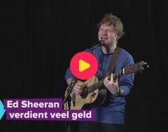Karrewiet: Ed Sheeran verdient veel geld!