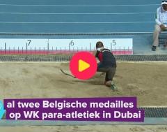 Karrewiet: Twee Belgische medailles op het WK para-atletiek