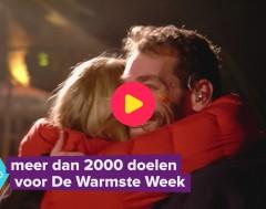 Karrewiet: Meer dan 2000 doelen voor de Warmste Week