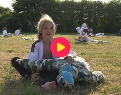 Karrewiet: Hoe hou je afstand bij een judo training?