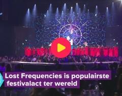 Karrewiet: Lost Frequencies is populairste festivalact ter wereld
