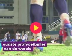 Karrewiet: Dit is de oudste profvoetballer van de wereld