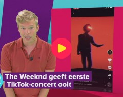 Karrewiet: The Weeknd treedt op op TikTok