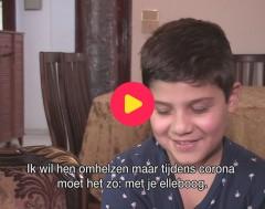 Karrewiet: Khaled uit Beiroet kan nog niet naar school